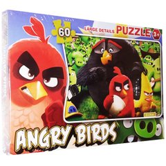 Пазлы Angry birds, 60 элементов