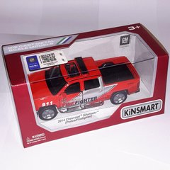 арт. KT5381W Модель 2014 Chevrolet Silverado (Fire Fighter), Kinsmart